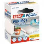 tesa® 56343 Extra Power Fabric Tape – White – 38mm x 2.75m