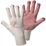 Worky 1130 Puncto Polyamid-Knitted Glove – Size 7/8