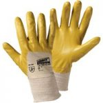Worky 1496 Flex-Nitril Nitrile Glove Silicon Free – Yellow – Size 9