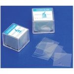 RVFM Microscope Cover Slips 18 x 18mm Pack of 100