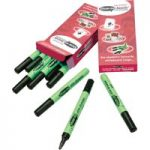 Show-me Dry Wipe Pens Black Medium 10