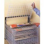 15 Shelves Wall Mounted Spring Loaded Drying Racks 60.5 x 49 x 48.5cm