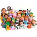 Learn The Alphabet Puppet Set