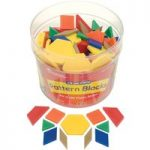Learning Resources Plastic Pattern Blocks Set 250
