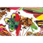 RVFM Rainforest Animal Stick Puppet Kit – Pack of 30