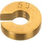 Eisco Brass Slotted Mass Weight 5g