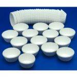 RVFM White Cake Cases – Pack of 1000