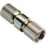 BKL 0415400 Adaptor 75 Ohm Teflon 1.6/5.6mm Plug to 1.6/5.6mm Plug