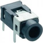 Lumberg 1503 08 Jack Socket 3.5mm Angled PCB Mount 3 Pole Stereo S…