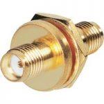 BKL 0409093 SMA Adaptor SMA Female – SMA Female Panel 50 Ohm Gold-…