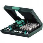 Wera 05057111001 Kraftform Kompakt 71 Security Bit Holder & 30-Pie…