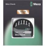 Wera 05073406001 Classic Mini-Check Mixed Bits, 7-Piece Set