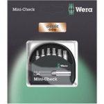 Wera 05073404001 Classic Mini-Check Torx Bits, 7-Piece Set