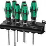 Wera 05105622001 Kraftform Plus 335/350/355/6 Screwdriver Set 6 Pi…