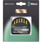 Wera 05073537001 Classic Mini-Check Mixed Titanium-Coated Bits, 7-…