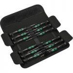 Wera 05073675001 12 SB 12-Piece Kraftform Micro Screwdriver Set