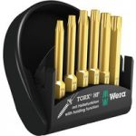 Wera 05056476001 6-Piece Mini Check Torx HF Bit Set with Holding F…