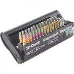Wera 05056435001 BCSIT/30 Rapidaptor Bit Holder with Bits, 30-Piec…