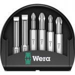 Wera 05056474001 Mini-Check Slotted/Phillips/Pozidriv Bits 50mm, 6…
