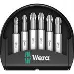Wera 05056471001 Mini-Check Pozidriv Bits 50mm, 6-Piece Set
