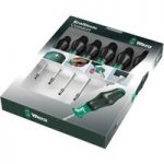 Wera 05031554001 1367/6 Kraftform Comfort Torx Screwdriver Set