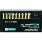 Wera 05056376001 8655-9 Rapidaptor Bit Holder with Torsion Pozi Bi…