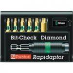 Wera 05056372001 8767-6 Rapidaptor Bit Holder with Diamond Torx Bi…