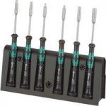 Wera 05118158001 2069/6 Kraftform Micro Nutdrivers, Set of 6
