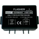 Kemo M114N Flasher Module with Adjustable Flash Sequence Component