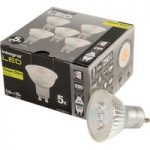 Integral LED Glass GU10 LED Bulb Neutral White 3.6W (35W) 4000K 28…