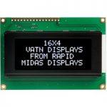 Midas Displays MC41605A12W-VNMLW 16×4 VATN LCD Display Negative Mo…