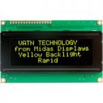 Midas Displays MC42005A12-VNMLY 20×4 VATN LCD Display Negative Mod…