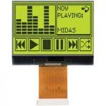 Midas Displays MCCOG128064A6S-SYTLY COG 128×64 STN Yellow/Green 60…