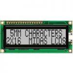 Midas Displays MC21605F6WE-SPR 16×2 STN Reflective LCD Display 59x…