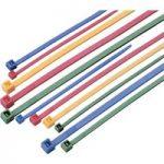 Conrad 541670 – 62 Cable Tie Set Coloured Green Red Blue and Yello…
