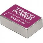 TracoPower TEN 5-2411WI 5W DC-DC Converter 9 – 36V DC In 5V DC 1A Out