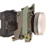 Schneider XB4BVB1 Complete Pilot Light Ø22 Plain Lens + Integral L…
