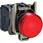 Schneider XB4BVB4 Complete Pilot Light Ø22 Plain Lens + Integral L…