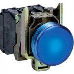 Schneider XB4BVB6 Complete Pilot Light Ø22 Plain Lens + Integral L…