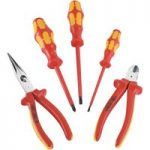 Knipex 00 20 13 VDE Tool Set With 3 Wera Screwdrivers