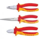 Knipex 00 20 12 Electro Set – 3 Piece