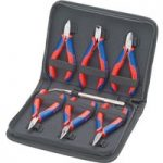 Knipex 00 20 16 Electronics Pliers Set – 7 Piece