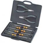 Knipex 00 20 18 ESD Electronics Pliers & Screwdrivers Set – 8 Piece