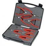 Knipex 00 21 25 Precision Circlip Pliers Set – 8 Piece