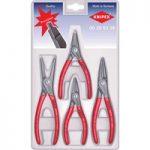 Knipex 00 20 03 SB Precision Circlip Pliers Set – 4 Piece