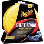 Meguiars X3070 Soft Foam Applicator Pads