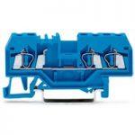 WAGO 280-684 5mm 3-cond. Through Terminal Block ATEX Ex I Blue
