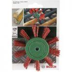 Bosch 2609256543 Nylon Wheel Brush Ø 100mm Shank Ø 6mm
