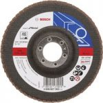 Bosch 2608607353 Flap Disc 125 x 22.23mm 40 Grit for Metal