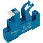 Finder 97.01SPA Screw Socket 35mm Rail (Mounting) 97.01